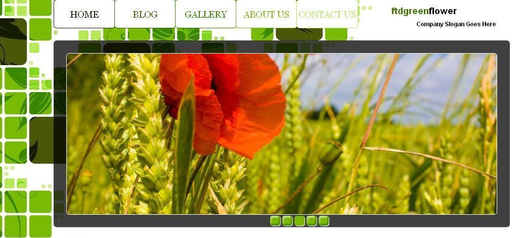 Yeşil Çiçek