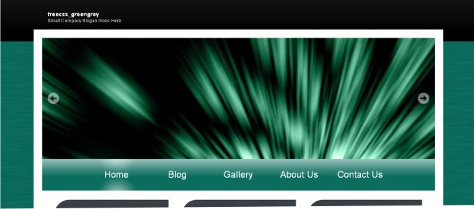 Yeşil Gri Tema