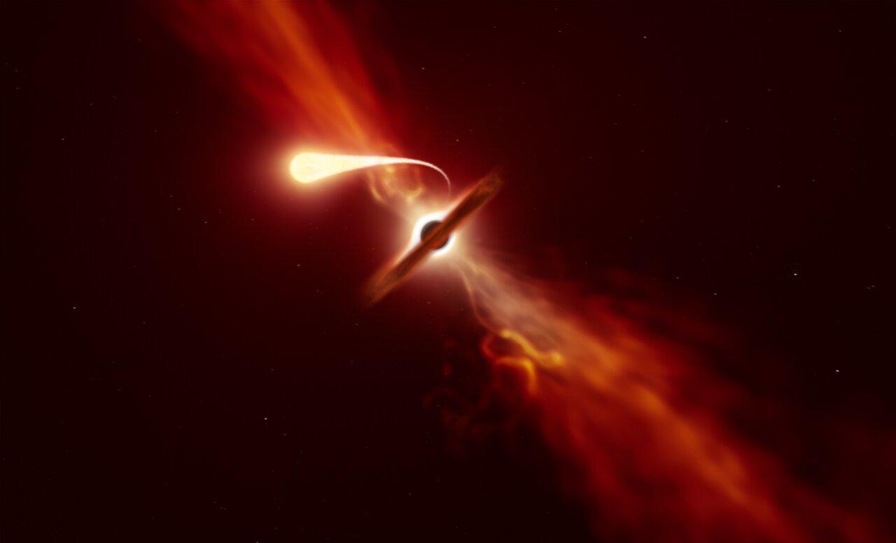 Kara Deliğin Yuttuğu Yıldız